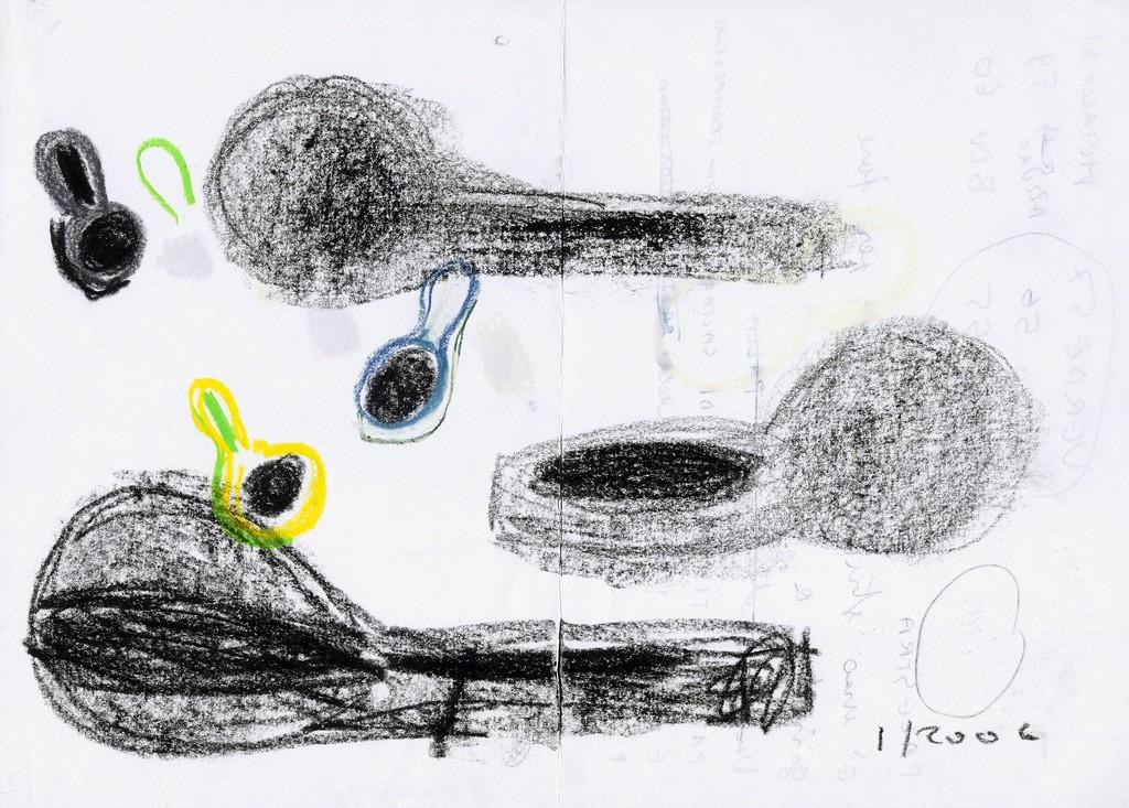 015_2006_Sneaker_Studio_Pastelli  a cera su carta_29,7x21cm_01_Giovanni Levanti_tn